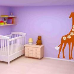 Large Giraffe Decal Sticker