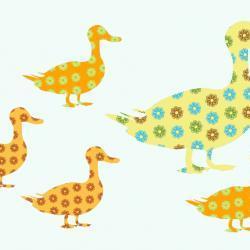 Ducks Wall Decals